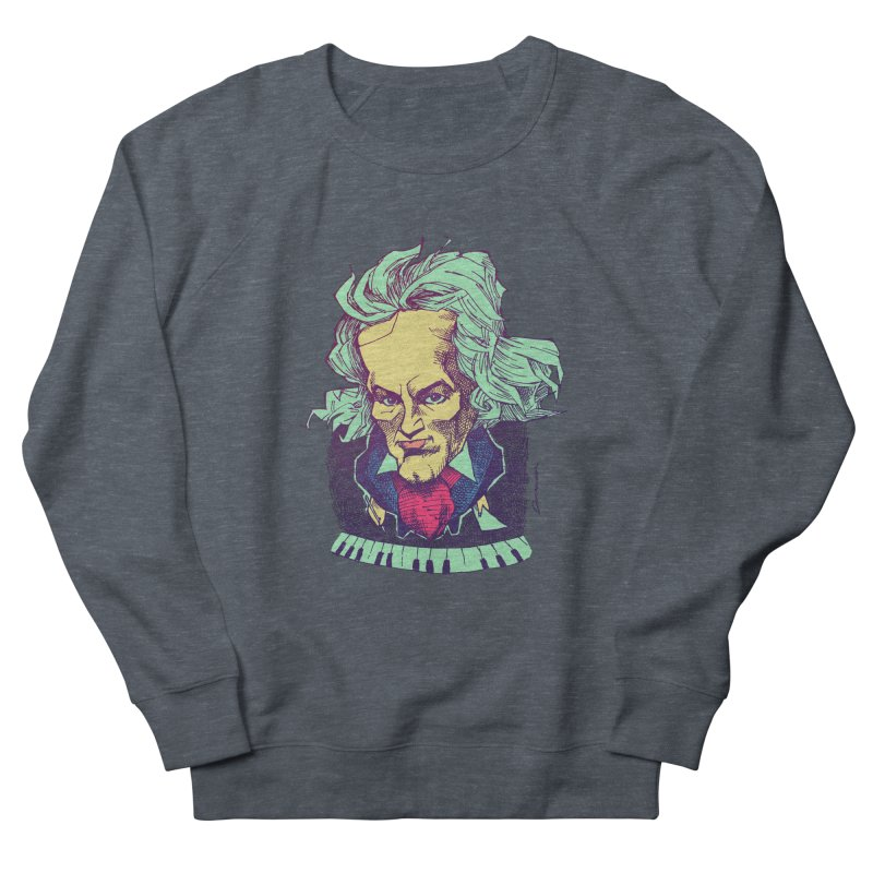 Ludwig Van B Men's Sweatshirt by Donovan Alex's Artist Shop