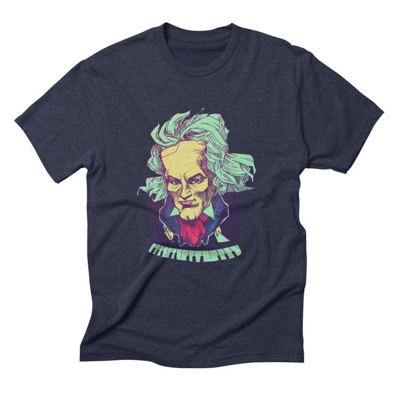 Ludwig Van B Men's Triblend T-shirt by Donovan Alex's Artist Shop