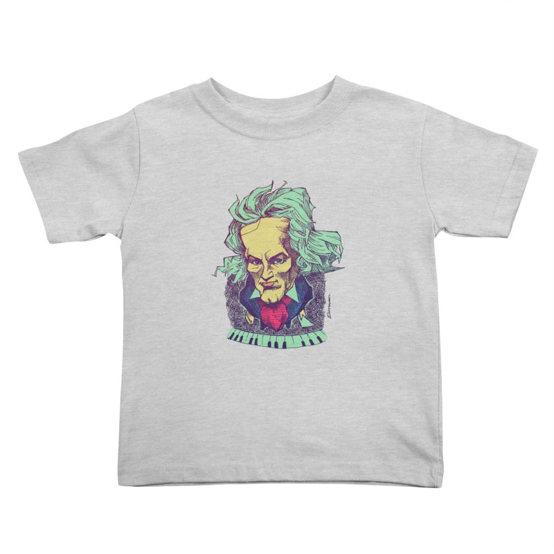 Ludwig Van B Kids Toddler T-Shirt by Donovan Alex's Artist Shop