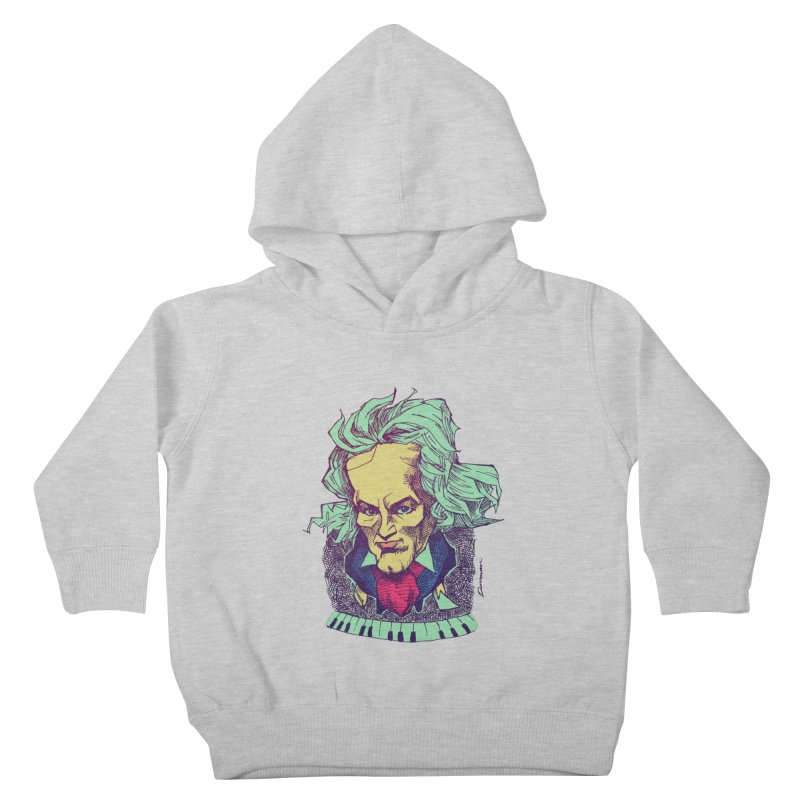 Ludwig Van B Kids Toddler Pullover Hoody by Donovan Alex's Artist Shop