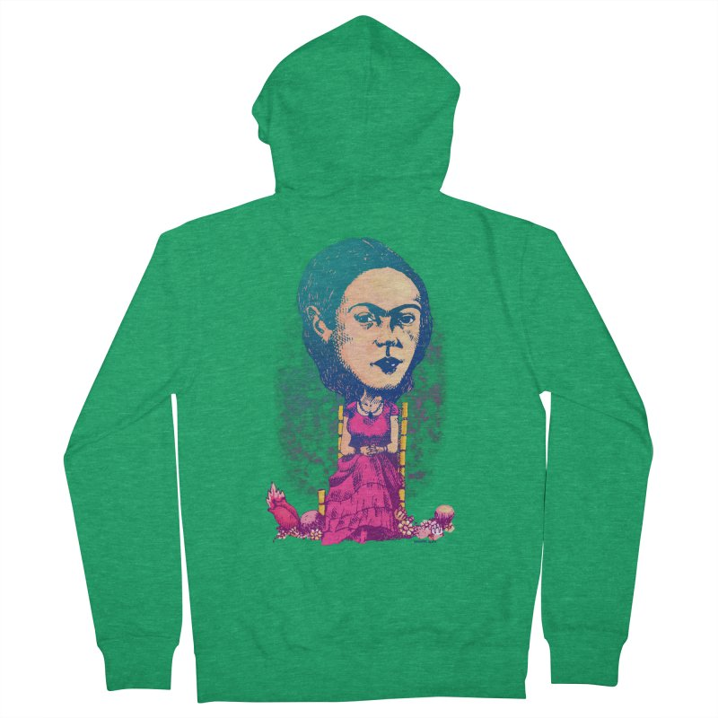 Frida Women's Zip-Up Hoody by Donovan Alex's Artist Shop