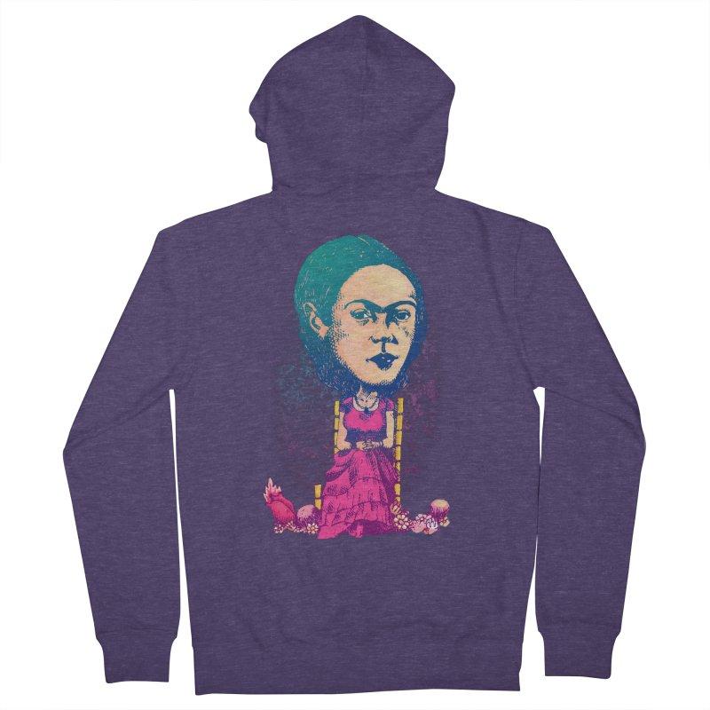 Frida Men's Zip-Up Hoody by Donovan Alex's Artist Shop