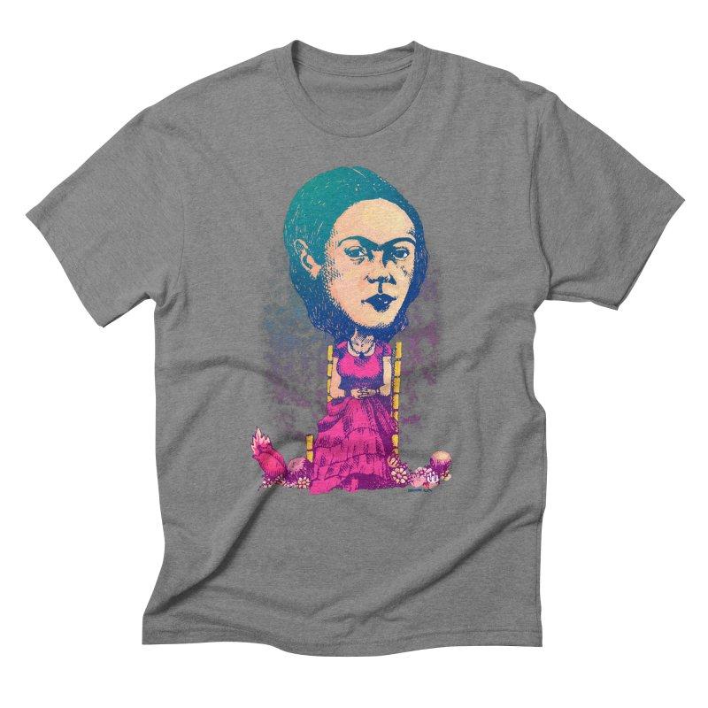 Frida Men's Triblend T-shirt by Donovan Alex's Artist Shop