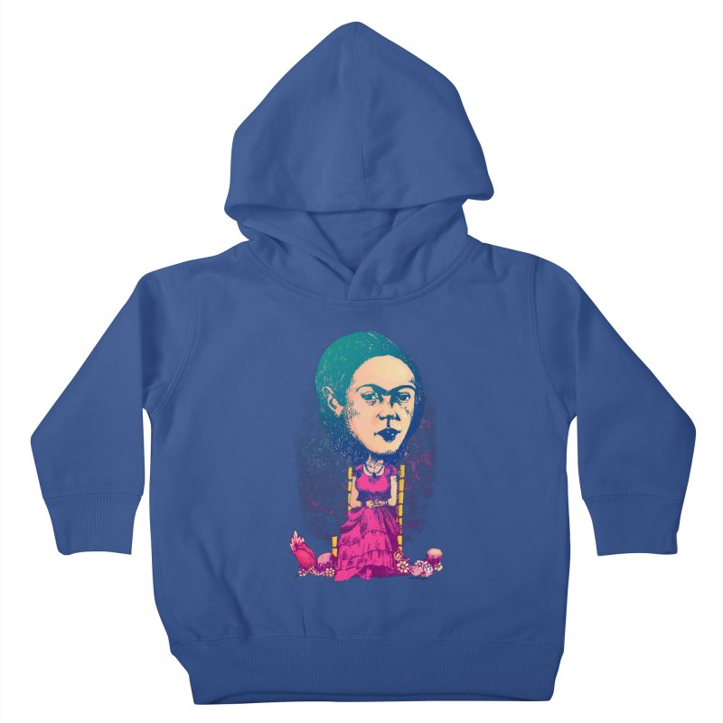 Frida Kids Toddler Pullover Hoody by Donovan Alex's Artist Shop