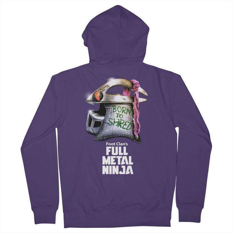 Full Metal Ninja Women's Zip-Up Hoody by Donovan Alex's Artist Shop