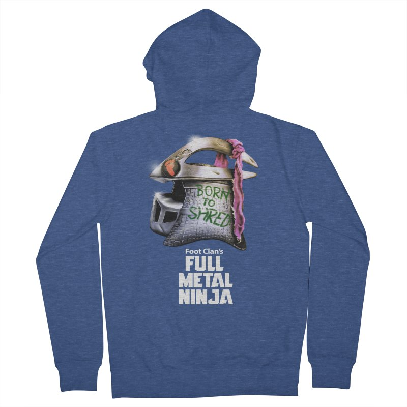 Full Metal Ninja Men's Zip-Up Hoody by Donovan Alex's Artist Shop