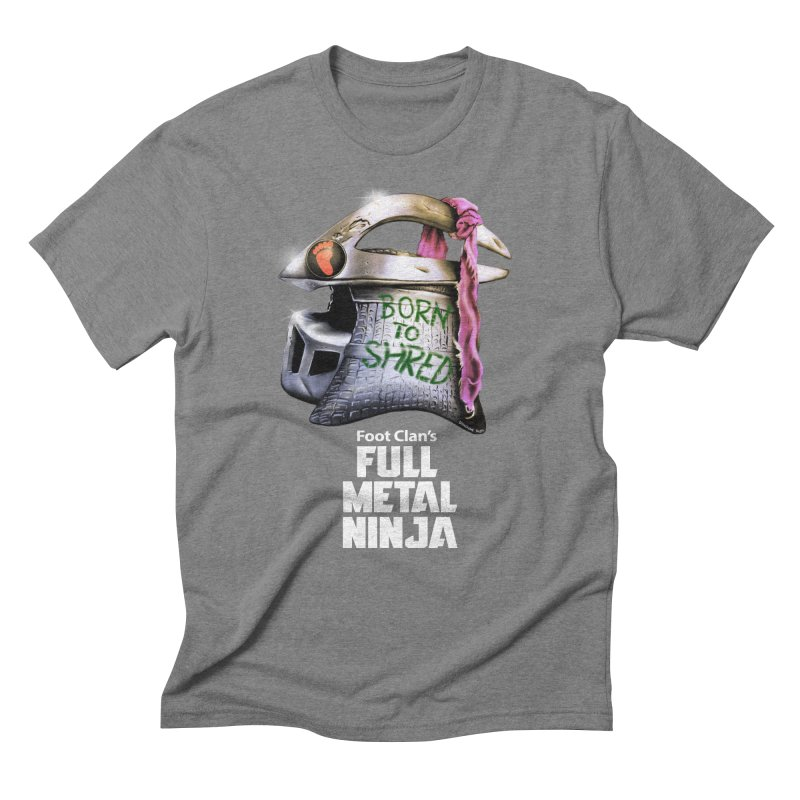 Full Metal Ninja Men's Triblend T-shirt by Donovan Alex's Artist Shop