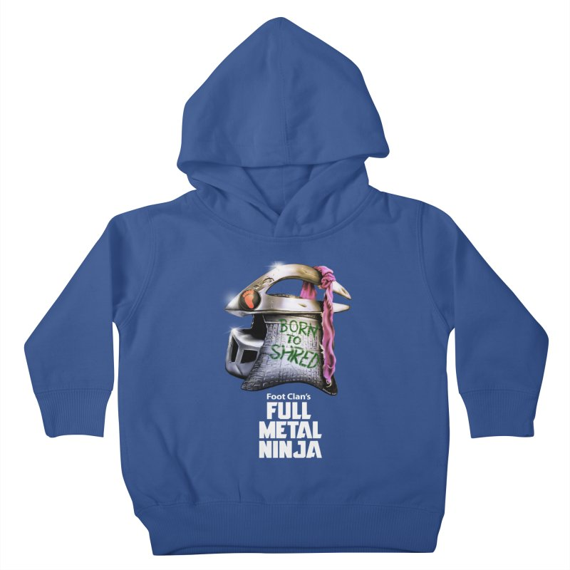 Full Metal Ninja Kids Toddler Pullover Hoody by Donovan Alex's Artist Shop