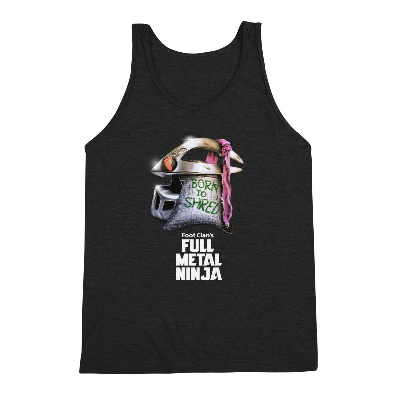 Full Metal Ninja Men's Triblend Tank by Donovan Alex's Artist Shop