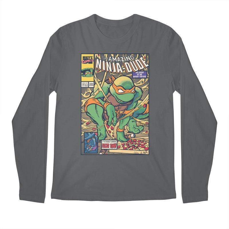 Amazing Ninja Dude Men's Longsleeve T-Shirt by Donovan Alex's Artist Shop