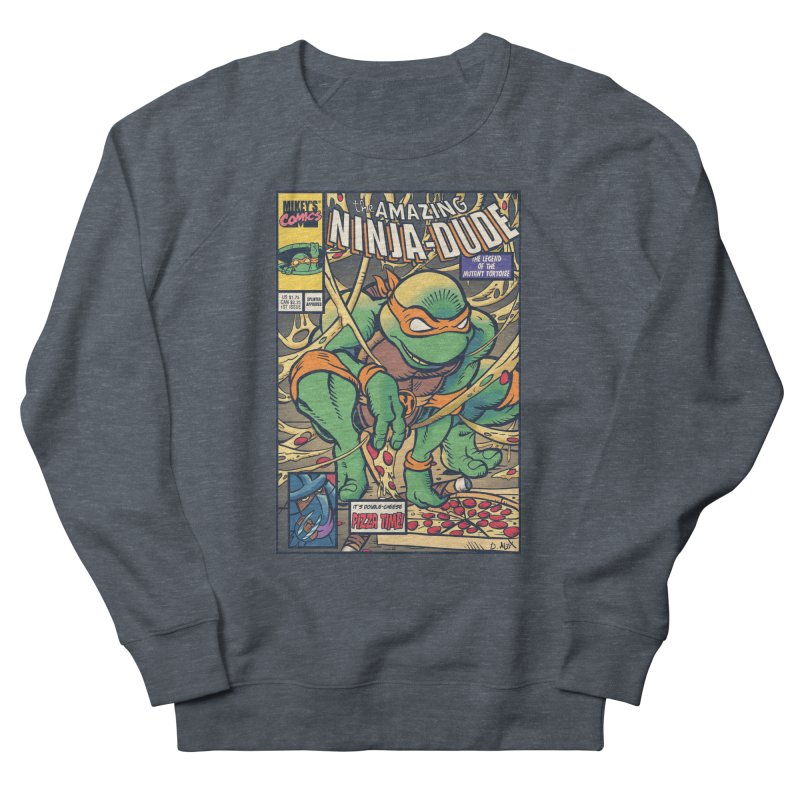 Amazing Ninja Dude Women's Sweatshirt by Donovan Alex's Artist Shop