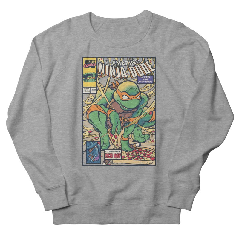 Amazing Ninja Dude Women's Sweatshirt by Donovan Alex's Artist Shop