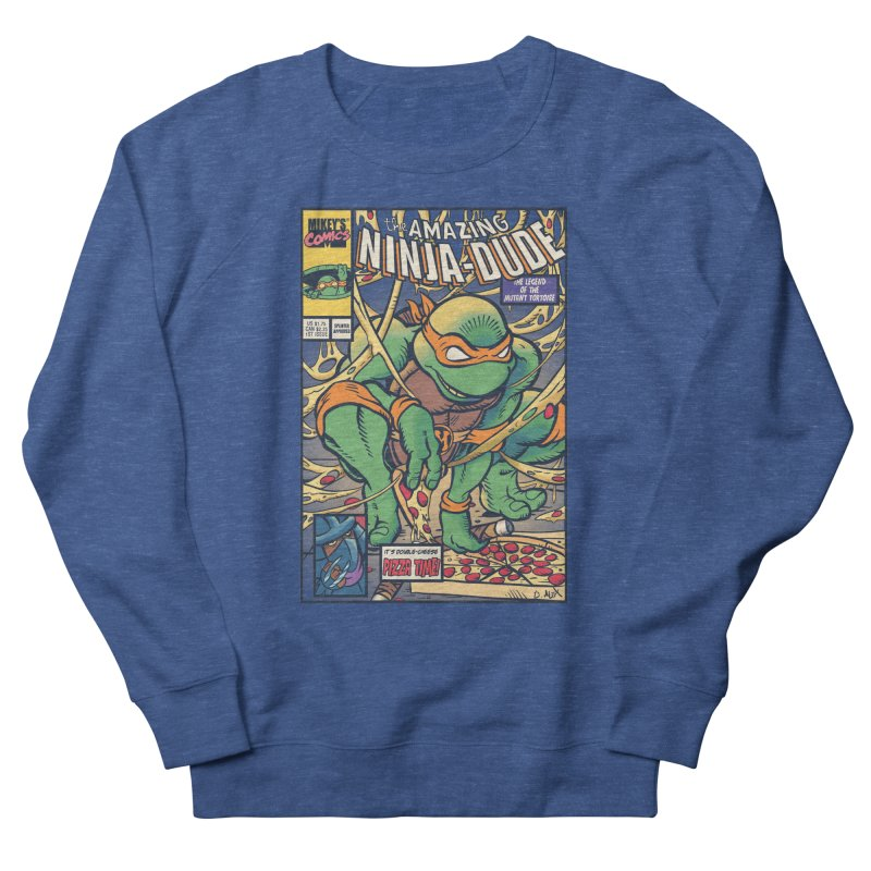 Amazing Ninja Dude Men's Sweatshirt by Donovan Alex's Artist Shop