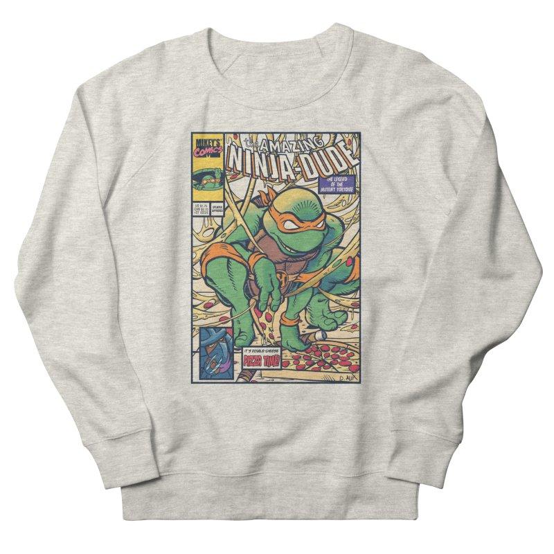 Amazing Ninja Dude Men's Sweatshirt by Donovan Alex's Artist Shop