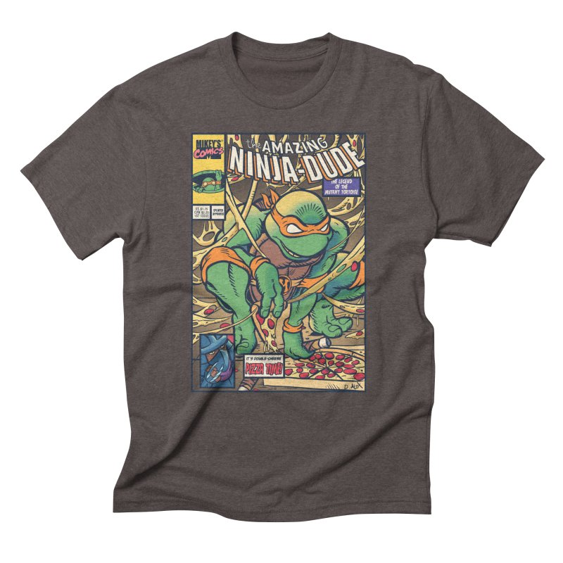 Amazing Ninja Dude Men's Triblend T-shirt by Donovan Alex's Artist Shop