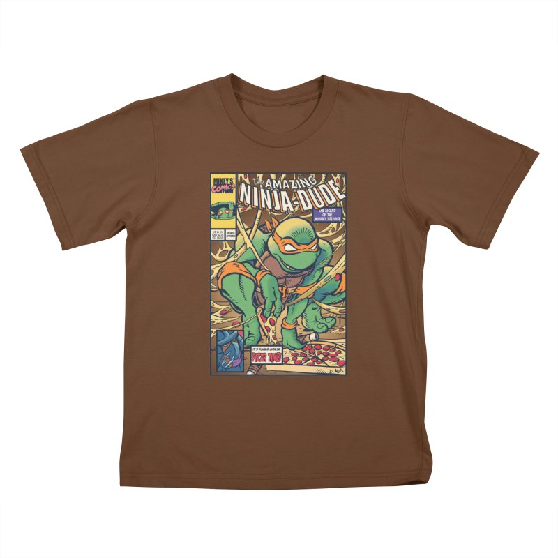 Amazing Ninja Dude Kids T-shirt by Donovan Alex's Artist Shop