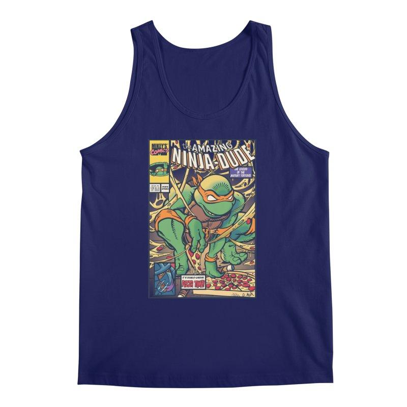 Amazing Ninja Dude Men's Tank by Donovan Alex's Artist Shop