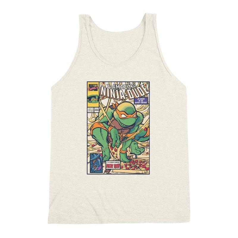 Amazing Ninja Dude Men's Triblend Tank by Donovan Alex's Artist Shop