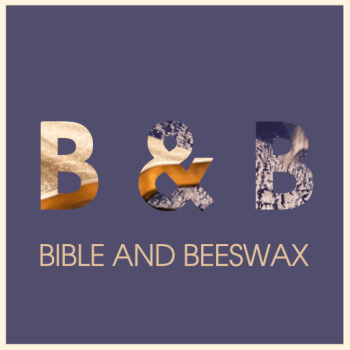 Bible and Beeswax Merch Logo
