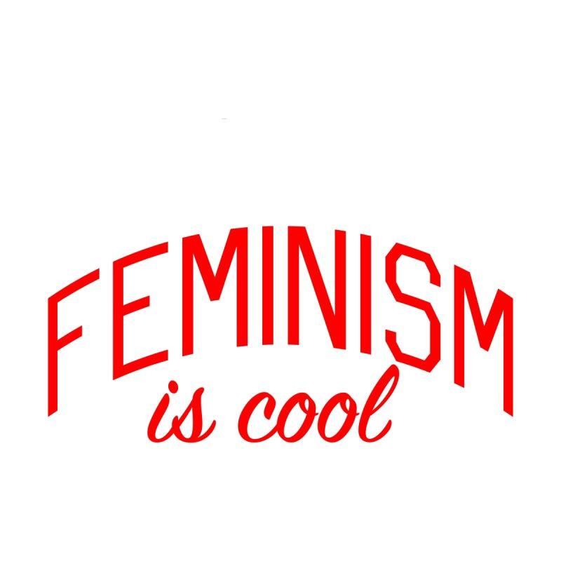 Feminism is Cool Kids Baby Bodysuit by Bicks' Artist Shop