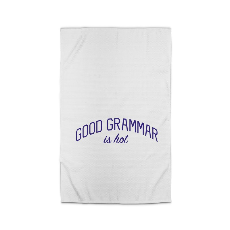 Good Grammar is Hot Home Rug by Bicks' Artist Shop