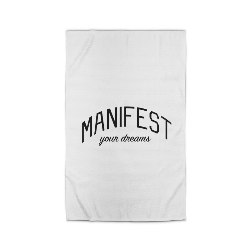 Manifest Your Dreams - Goal Setting and Achievement Home Rug by Bicks' Artist Shop