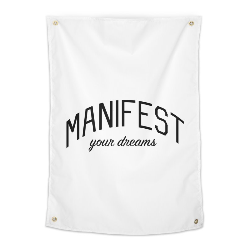 Manifest Your Dreams - Goal Setting and Achievement Home Tapestry by Bicks' Artist Shop