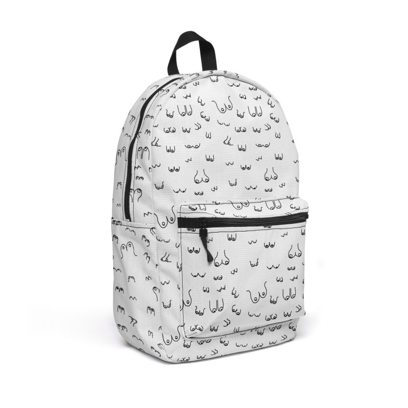 The Booby Trap Accessories Backpack Bag by Bicks' Artist Shop