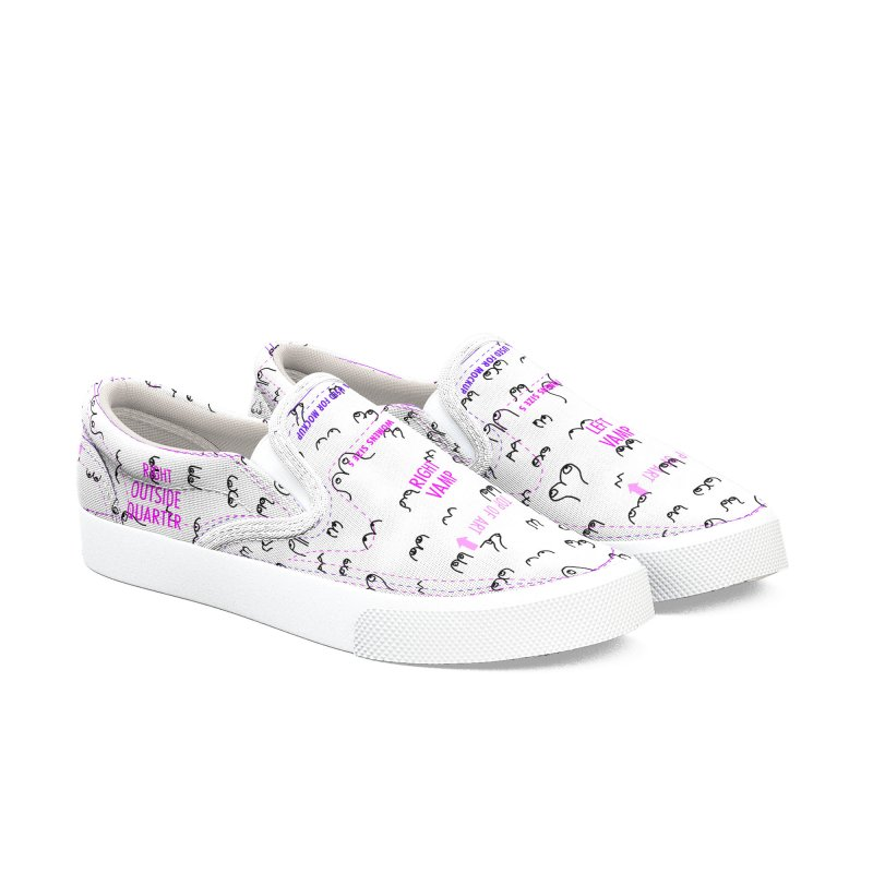The Booby Trap Women's Slip-On Shoes by Bicks' Artist Shop