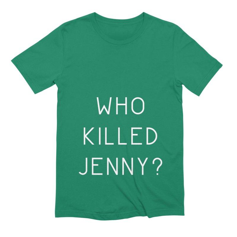 Who Killed Jenny Men's Extra Soft T-Shirt by Bicks' Artist Shop