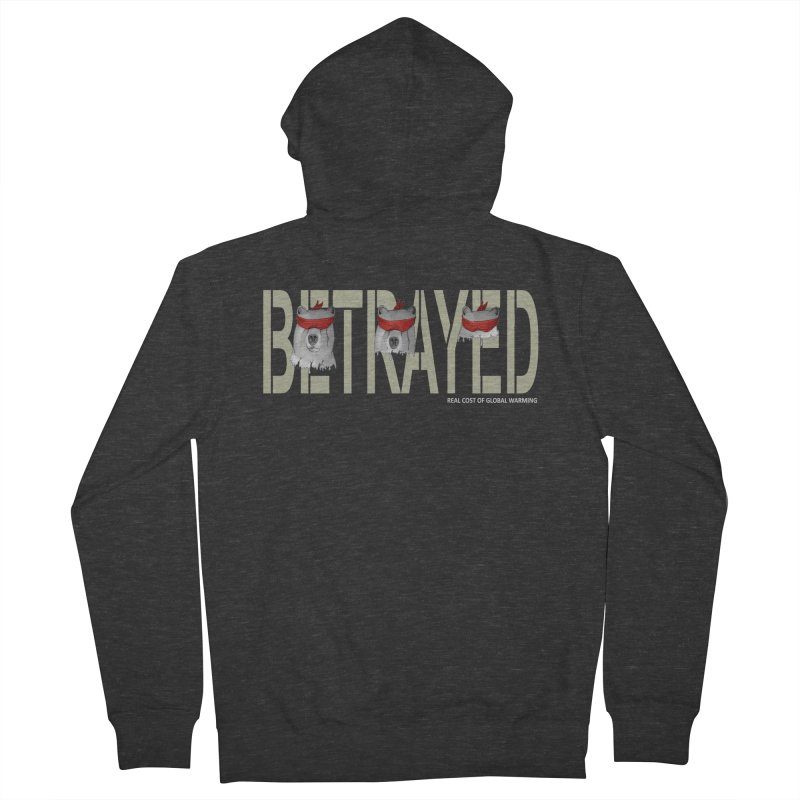 Betrayed bears Men's Zip-Up Hoody by bidule's Artist Shop