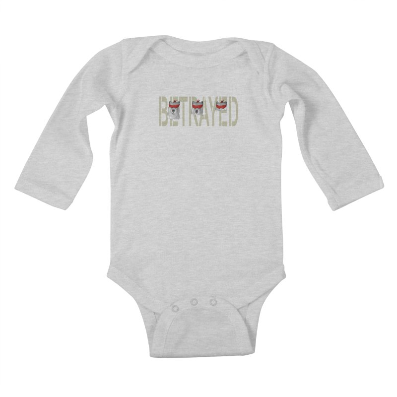 Betrayed bears Kids Baby Longsleeve Bodysuit by bidule's Artist Shop