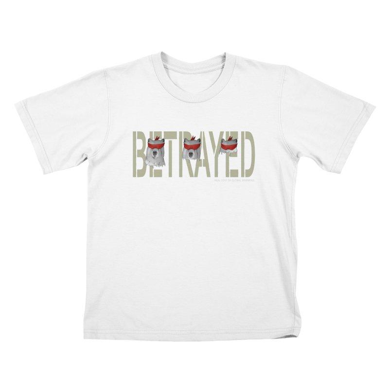 Betrayed bears Kids T-Shirt by bidule's Artist Shop