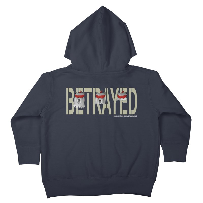 Betrayed bears Kids Toddler Zip-Up Hoody by bidule's Artist Shop