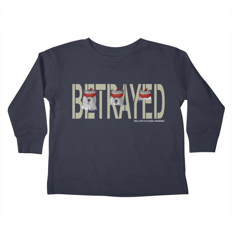 Betrayed bears Kids Toddler Longsleeve T-Shirt by bidule's Artist Shop