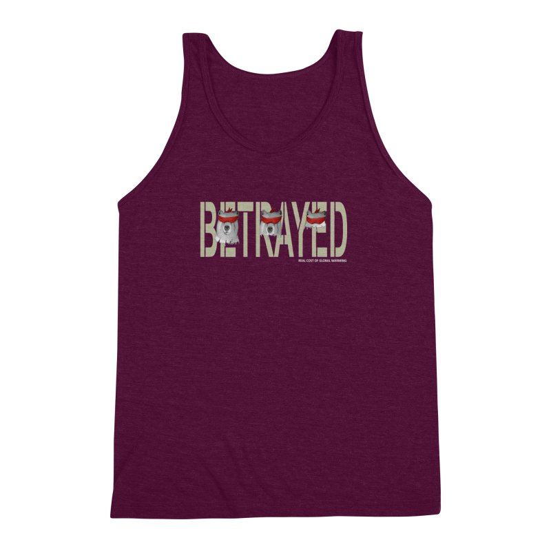 Betrayed bears Men's Triblend Tank by bidule's Artist Shop