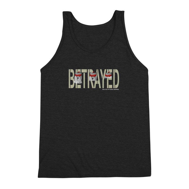 Betrayed bears Men's Triblend Tank by bidule's Artist Shop