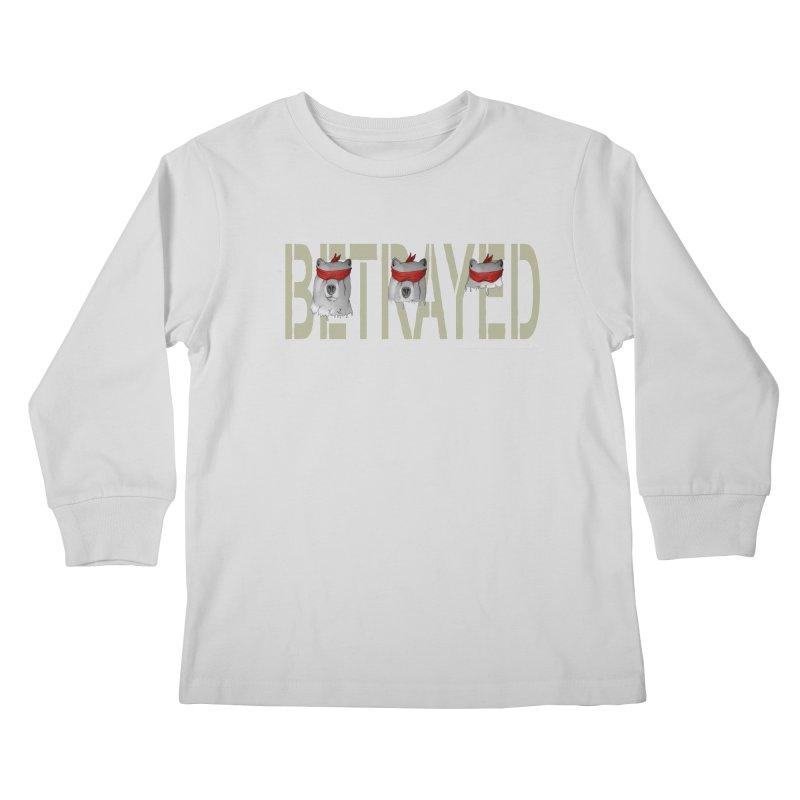 Betrayed bears Kids Longsleeve T-Shirt by bidule's Artist Shop