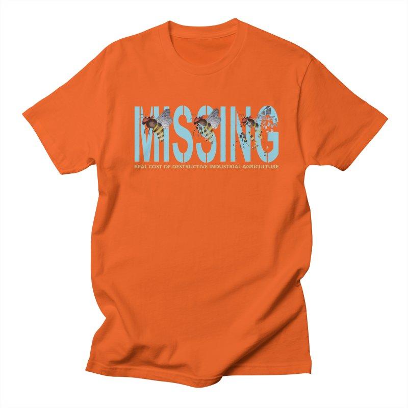 Missing bees blue Men's T-shirt by bidule's Artist Shop