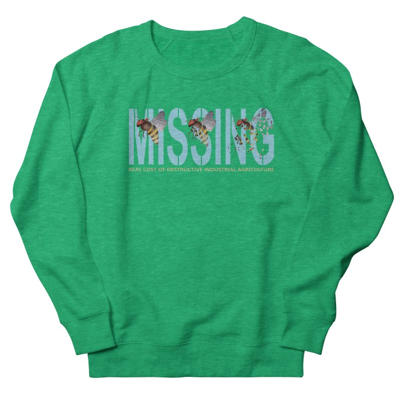 Missing bees blue Men's Sweatshirt by bidule's Artist Shop