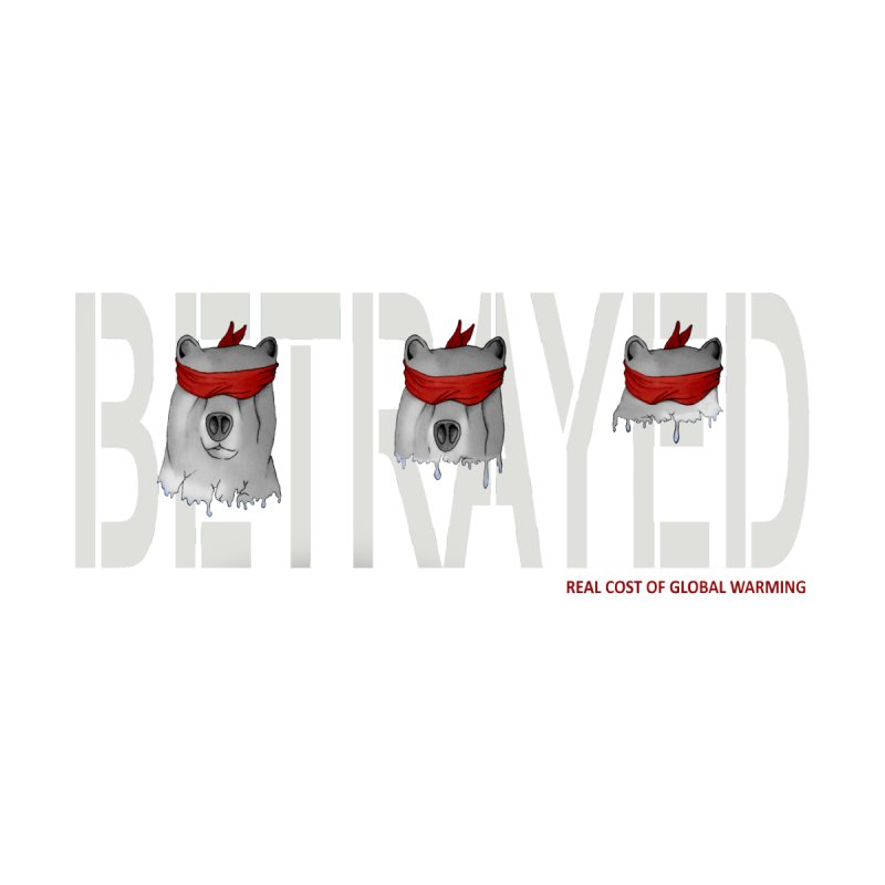 Betrayed bear white None  by bidule's Artist Shop