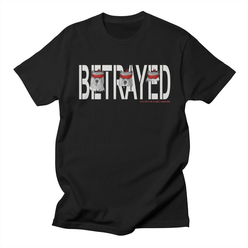 Betrayed bear white Men's T-shirt by bidule's Artist Shop