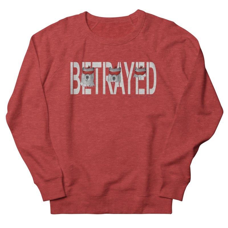 Betrayed bear white Men's Sweatshirt by bidule's Artist Shop
