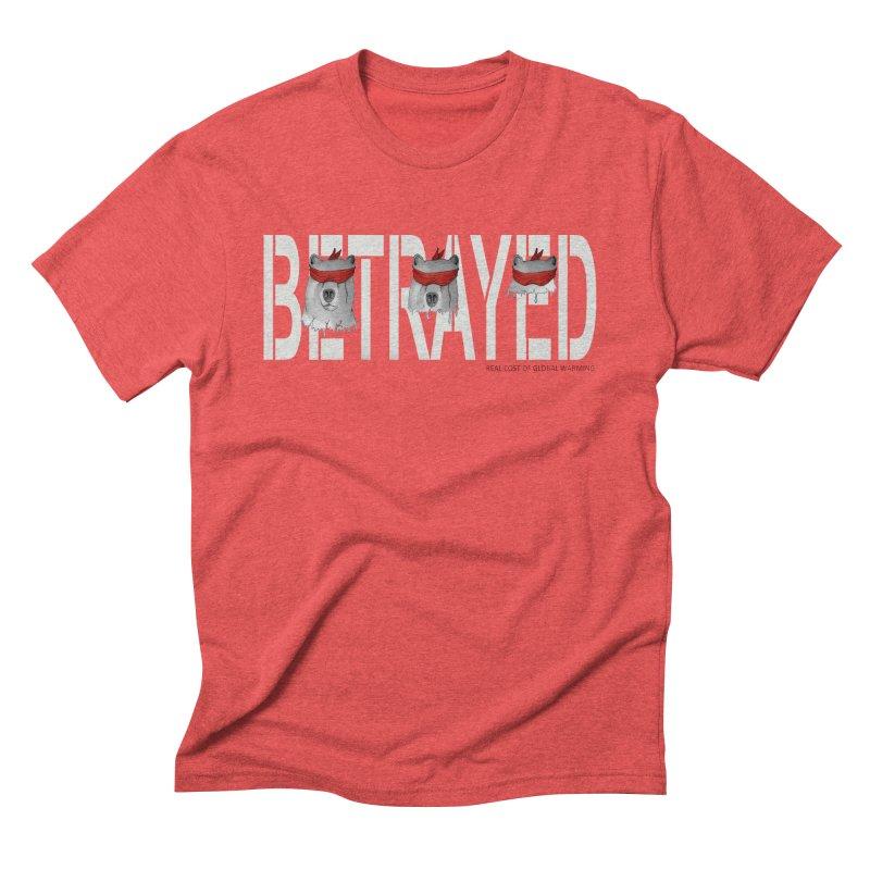 Betrayed bear white Men's Triblend T-Shirt by bidule's Artist Shop