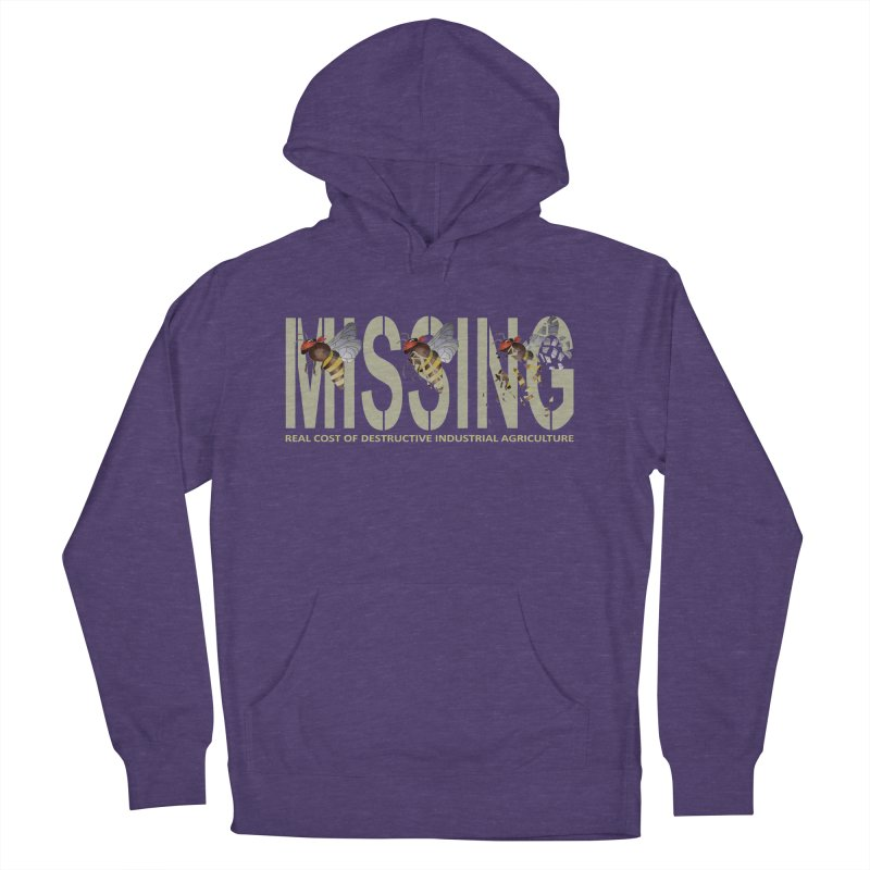 Missing bees Men's Pullover Hoody by bidule's Artist Shop
