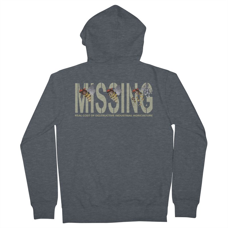 Missing bees Men's Zip-Up Hoody by bidule's Artist Shop