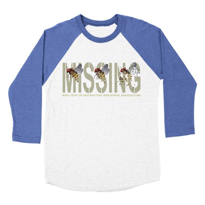 Missing bees Women's Baseball Triblend T-Shirt by bidule's Artist Shop