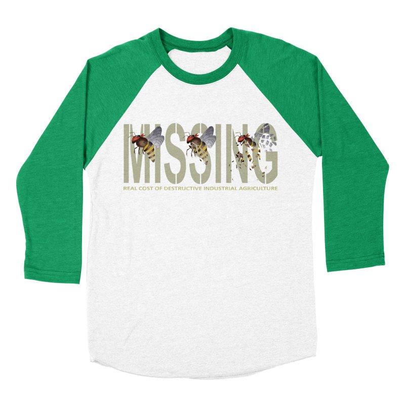 Missing bees Men's Baseball Triblend T-Shirt by bidule's Artist Shop