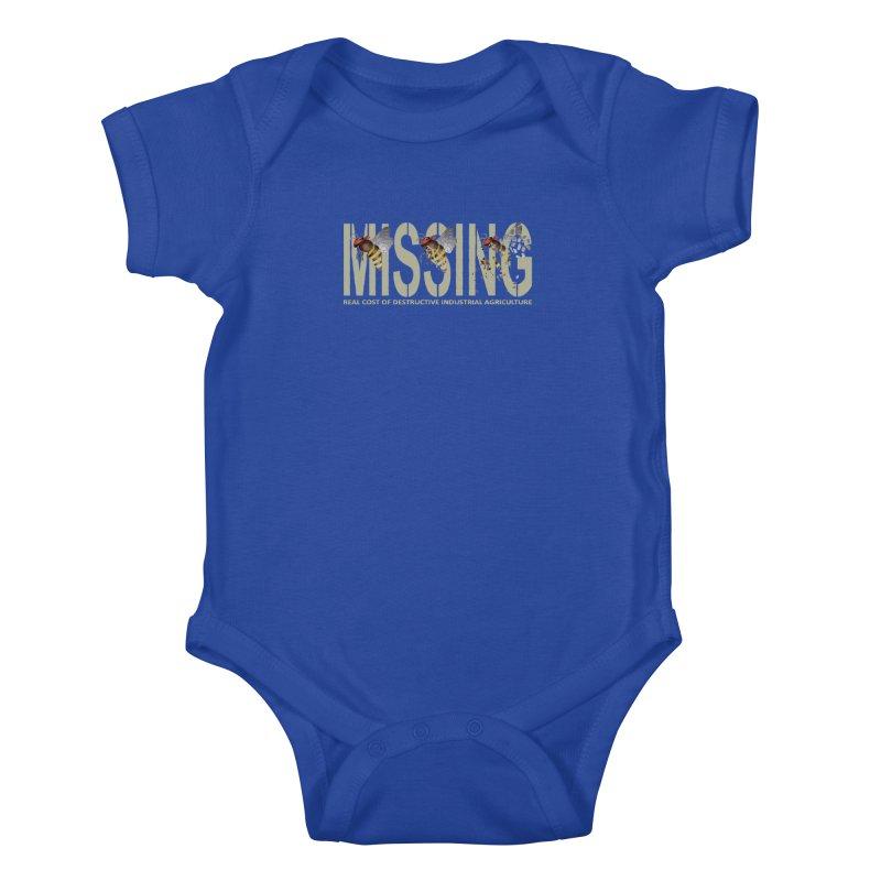 Missing bees Kids Baby Bodysuit by bidule's Artist Shop