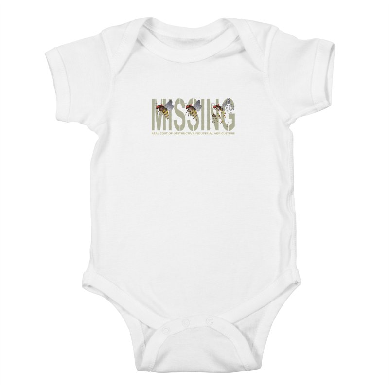 Missing bees Kids Baby Bodysuit by bidule's Artist Shop